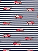firetrucks striped -  jersey