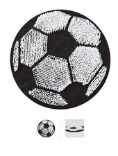 football - iron on motif