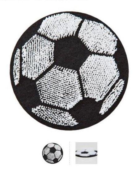football - iron on motif