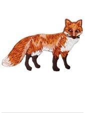 fox - iron on application