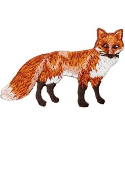 fox - iron on application