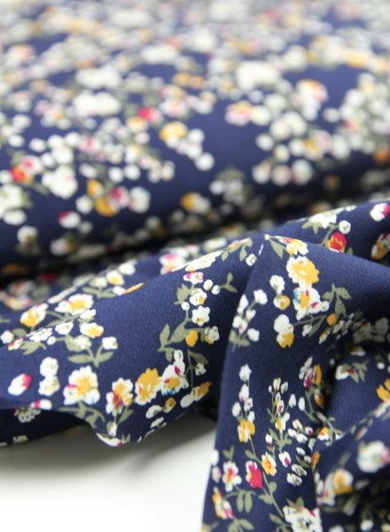 little flowers ochre - viscose