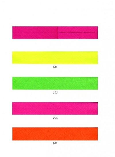 neon orange - biais 20 mm