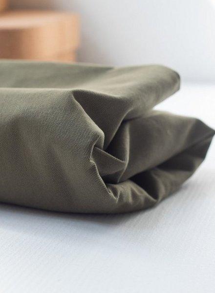 Mind The Maker 9 oz - khaki -  washed cotton twill