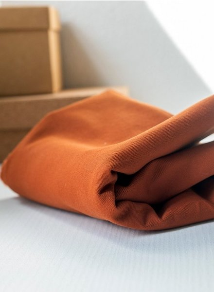 Mind The Maker 9 oz - bronze - washed cotton twill