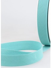 Aqua blauw biais 20 mm – 20