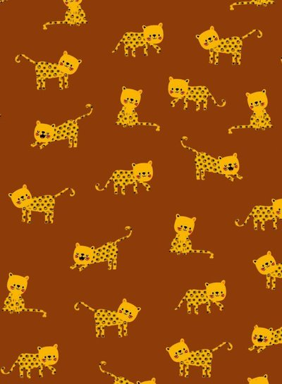 rust little panther - jersey