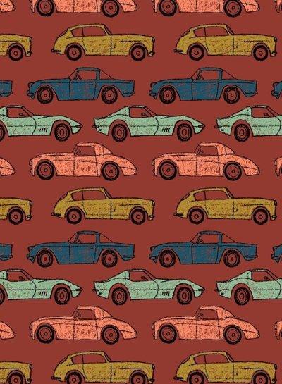 terra cars - soft sweater GOTS