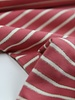 coral lurex stripes - french terry