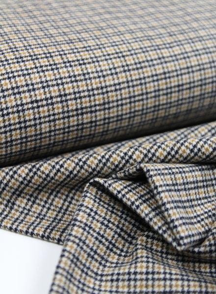 pied de poule checks - woolen fabrics