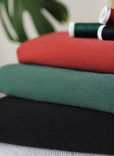 rusty - supple fabric - wool touch