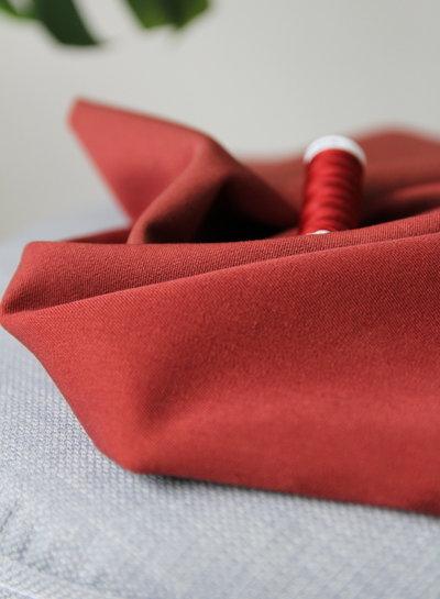 roest - soepelvallende gabardine - wool touch