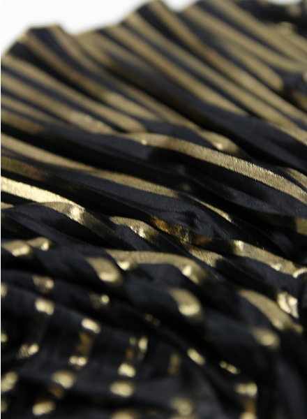 La Maison Victor Allegra rok goud - plisse