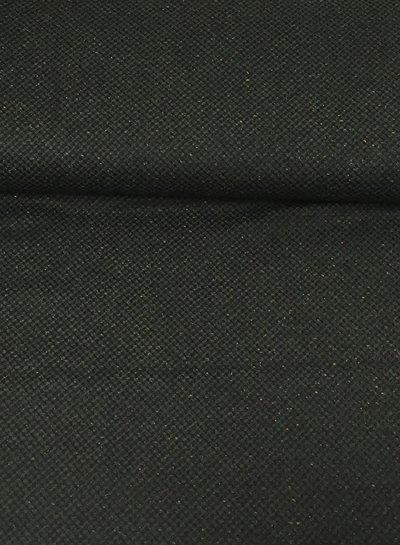 intens groen - wollen stof