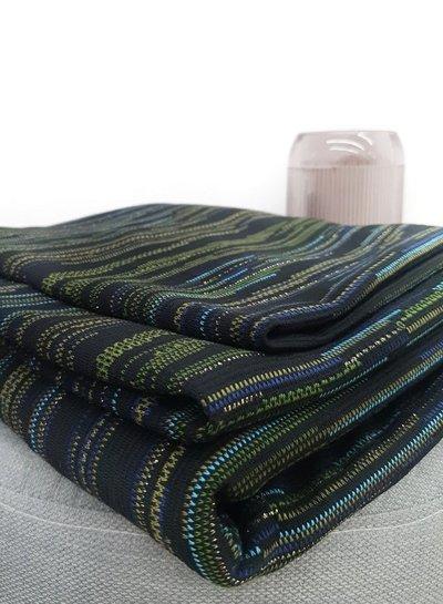 classy stripes lurex - stretch jacquard