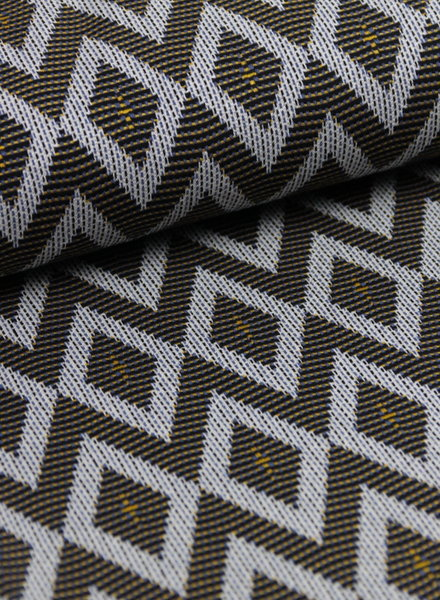 oker diamonds - stretch jacquard