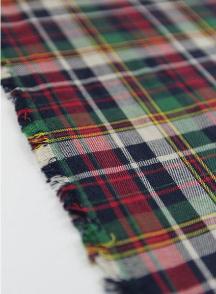 christmas checks - cotton