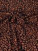ocre leopard - woven jacquard