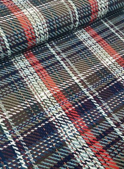 Atmos fashion style - woven jacquard - coat fabric