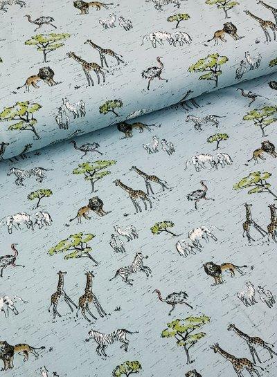 blauw safari in africa - tricot