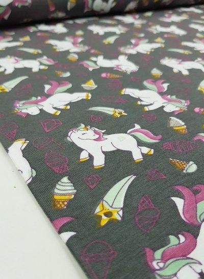 glitter unicorn - jersey