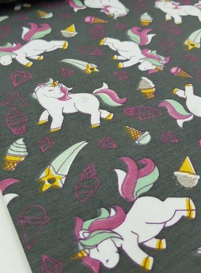 glitter unicorn - tricot