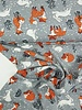 rabbits and foxes grey - jersey
