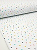 colored dots - GOTS LABEL - tricot