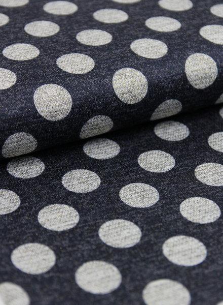 lurex dots - gebreide stof