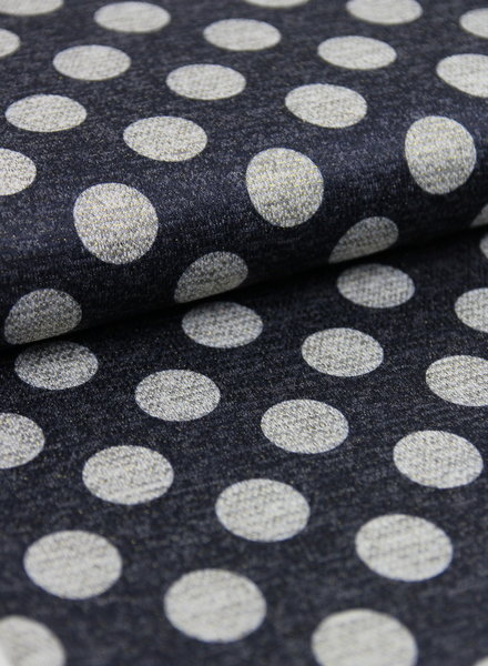 lurex dots - knitted fabric