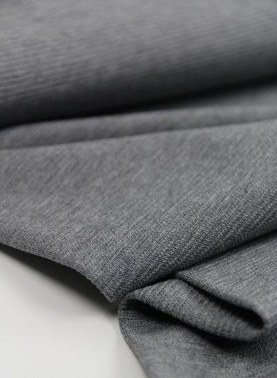 Editex grijs - structuur tricot