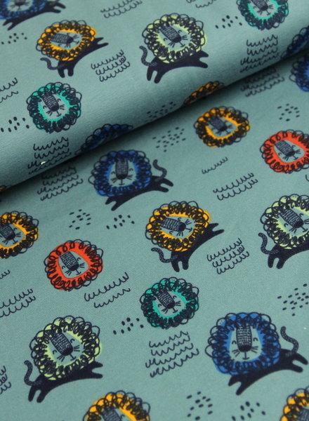 blauw leeuw - tricot