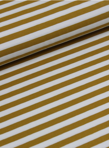 ocre stripes - jersey