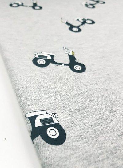 grijs scooter - happy fleece