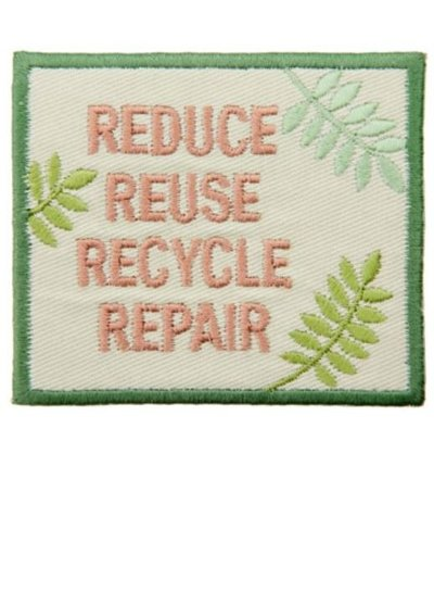 Reduce Recycle Repair - iron on application