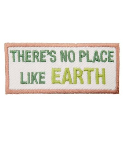 there's no place like earth - iron on application