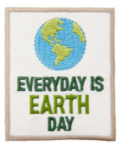 Everyday is earth day - strijkapplicatie