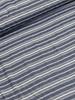 zachte strepen blauw - viscose