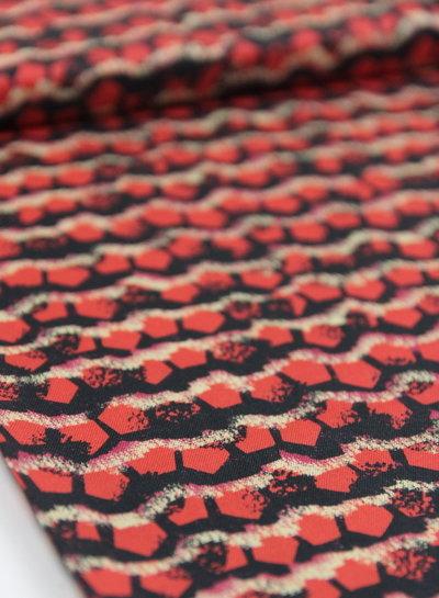 Fibremood red bricks - viscose