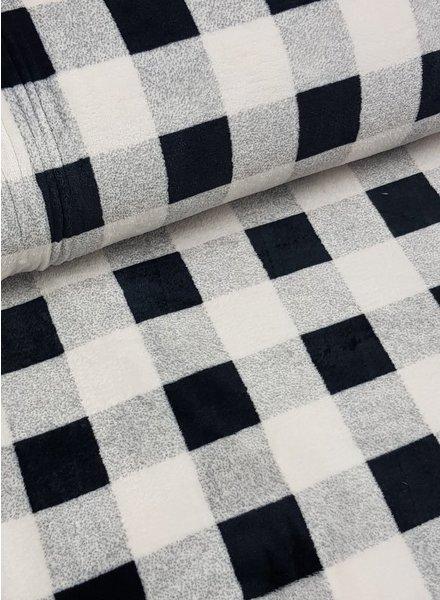 black squares - wellness fleece