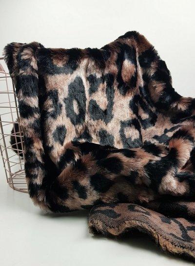 faux fur - leopard