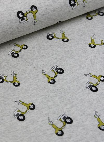 cream oker scooter - happy fleece