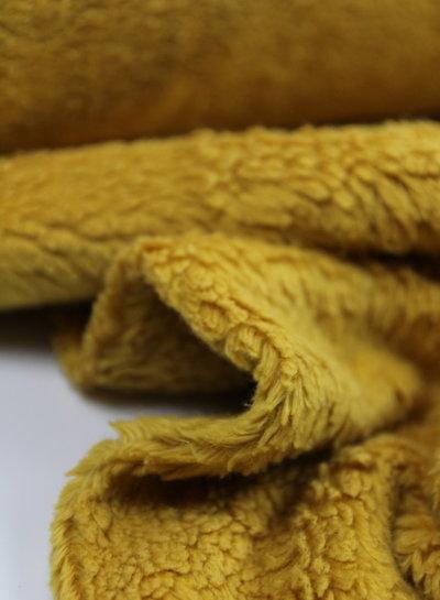 ocre teddy fleece
