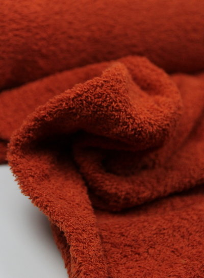 rusty - terry towel fabric
