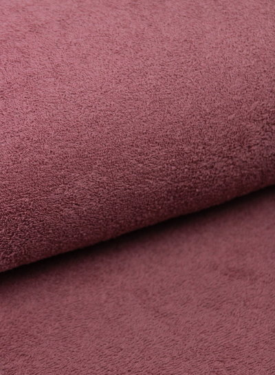 oud roze badstof