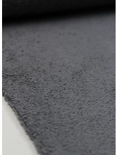 grey terry towel fabric