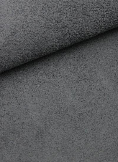 grijs badstof
