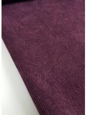 purple - babyrib / corduroy
