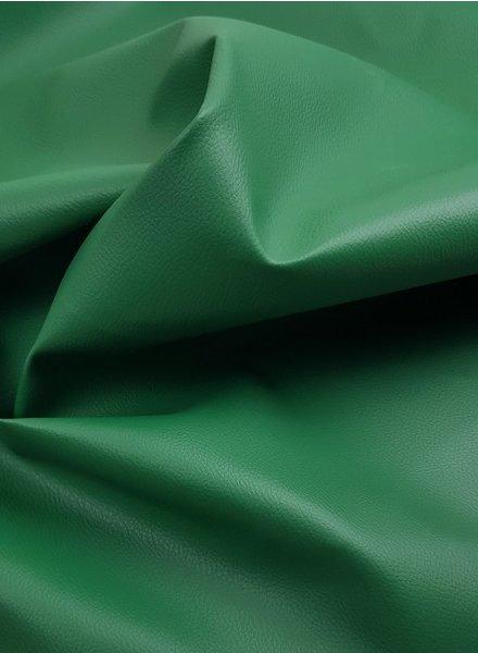 vegan leather - grasgroen