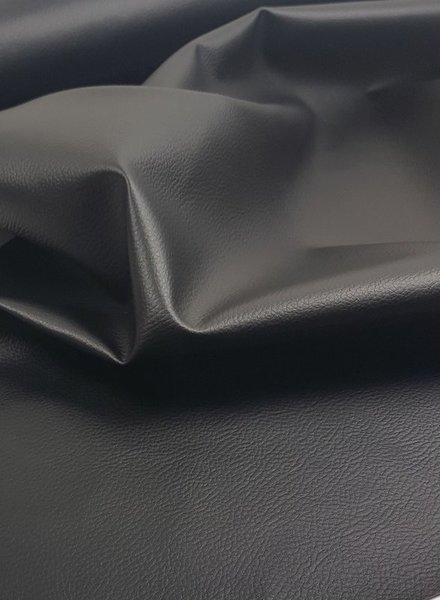 vegan leather - zwart
